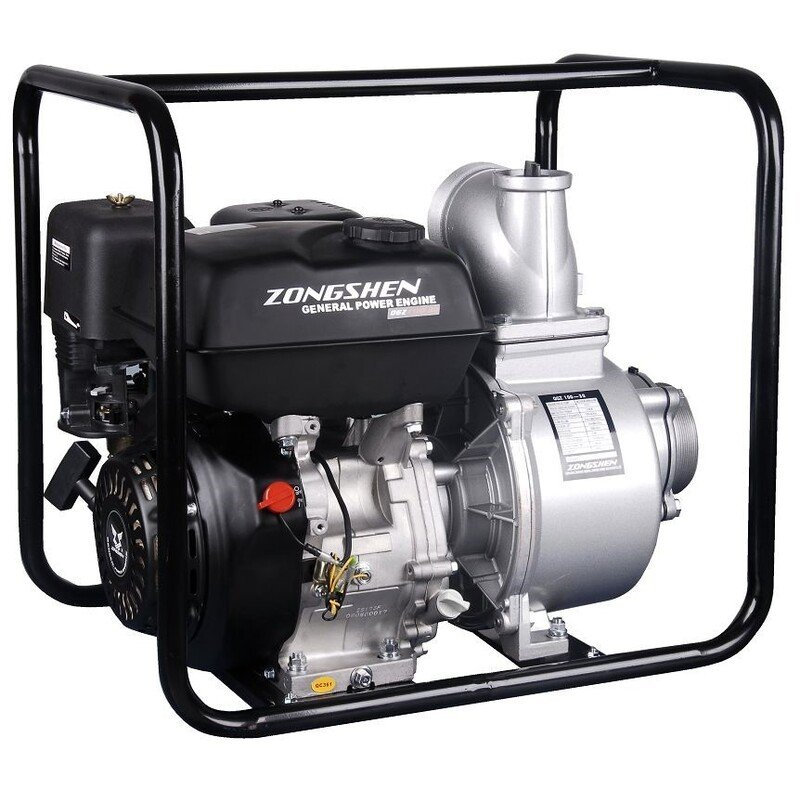 Vandens pompa QGZ100-30 / Galingiausia pompa, dar vadinama išcentriniu siurbliu. Tinka komercijai, gaisrų gesinimui, bei dideliam ūkiui.