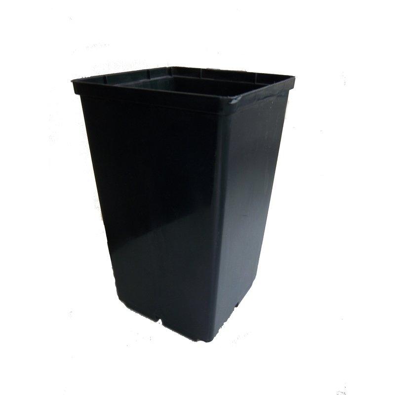 Vazonėlis daigams kvadratinis 5.5 L, 19,5x19,5, H- 23cm