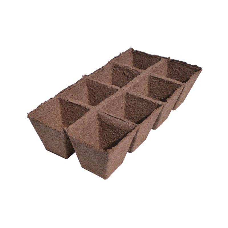 Durpinė daigykla, 70x70 mm, 8 narveliai
