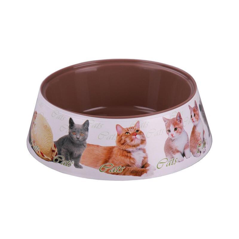 Dubenėlis kačių ėdalui, plastikas 0,3 L