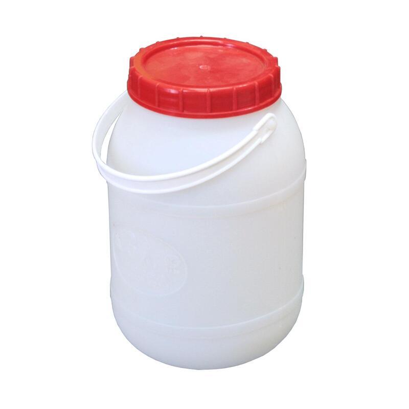 Bidonas 3 l  su plastikine rankena (tinkamas maisto produktų laikymui)