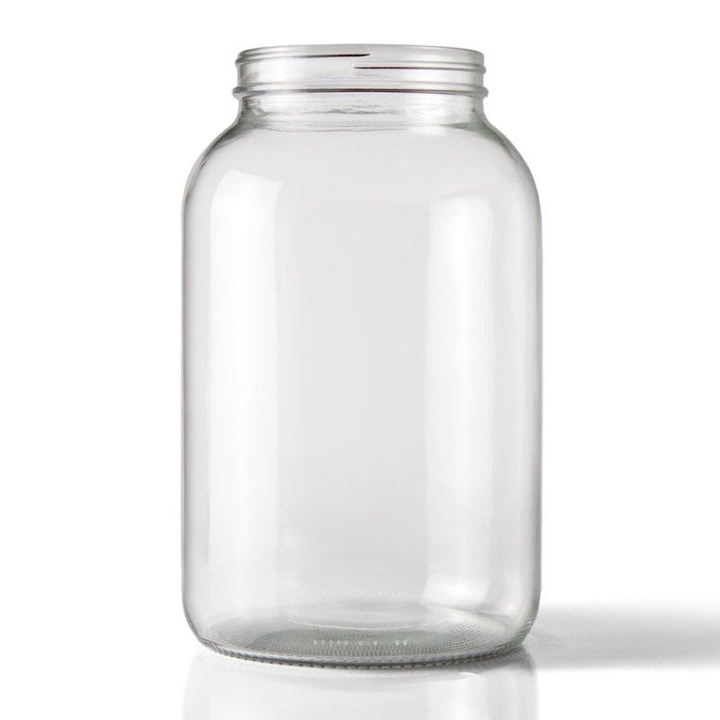 Stiklainis užsukamas 4l (6 vnt.)