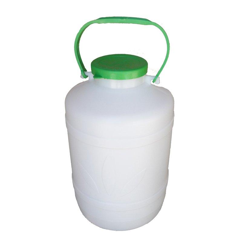 Bidonas 5 l, plastikinis (tinkamas šaltų maisto produktų laikymui)