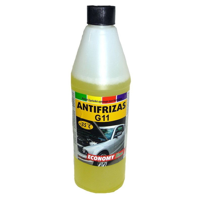 Antifrizas -35 ºC 1 kg (geltonas)