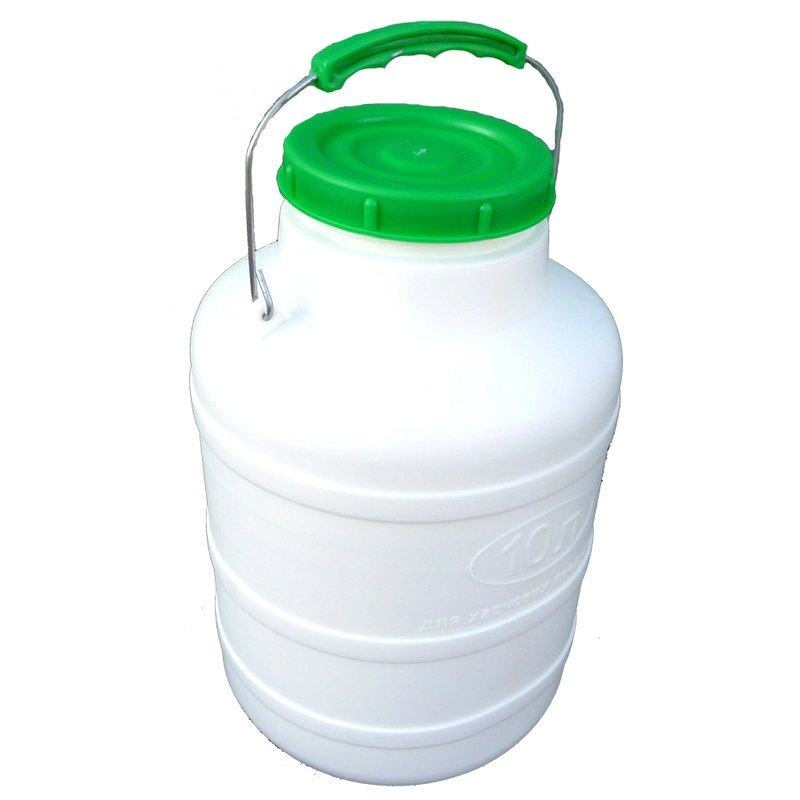 Bidonas 10 l (tinkamas maisto produktų laikymui)