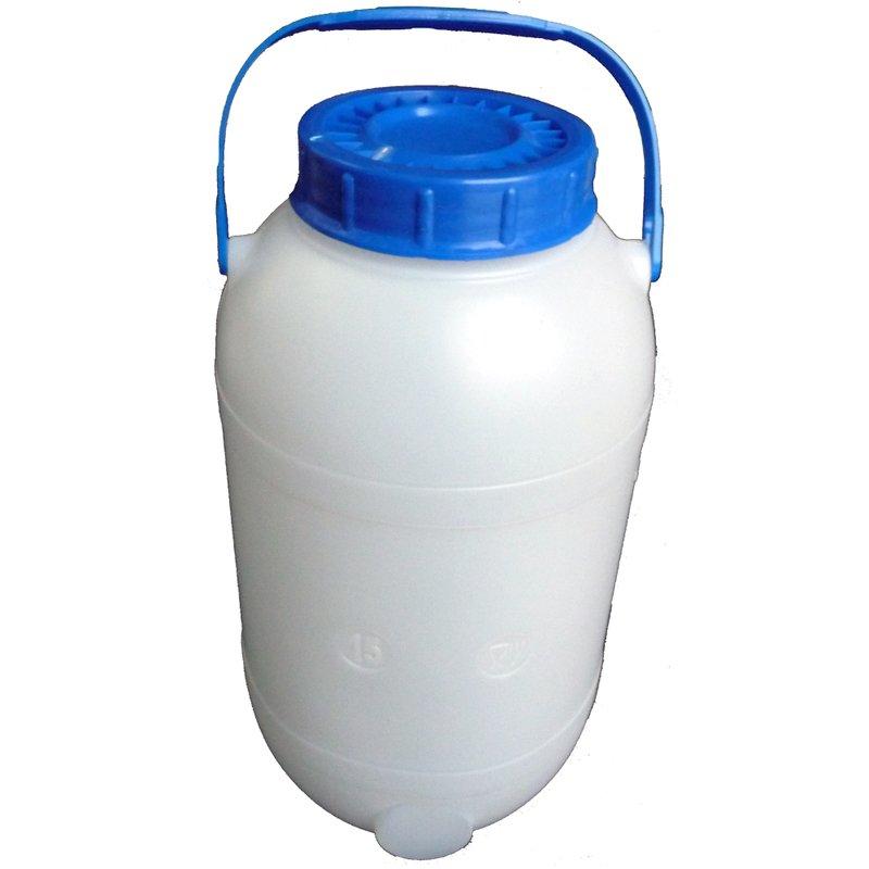 Bidonas 15 l (tinkamas maisto produktų laikymui)