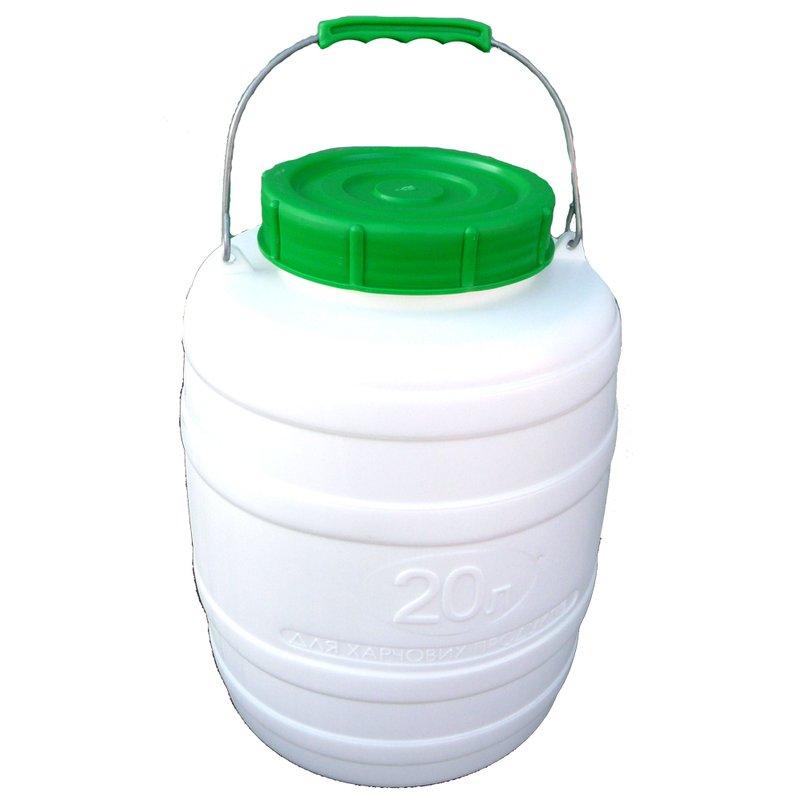 Bidonas 20 l (tinkamas maisto produktų laikymui)