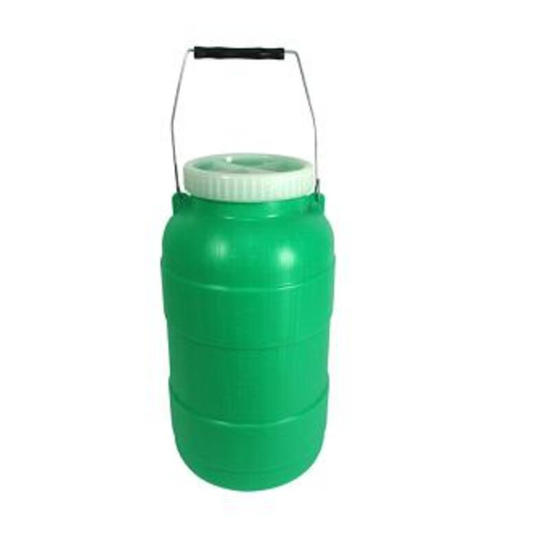 Bidonas pienui 12 l (plastikinis)