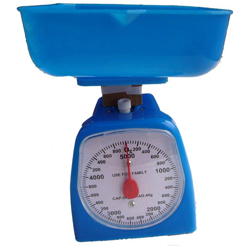 Buitinės pastatomos svarstyklės iki 5 kg