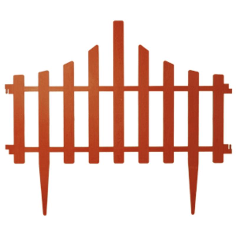 Dekoratyvinė tvorelė vejai, 4 segmentų