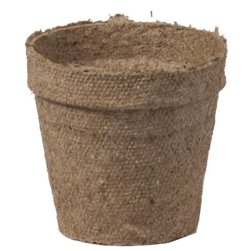 Durpiniai puodeliai, Ø 8 x 8 cm
