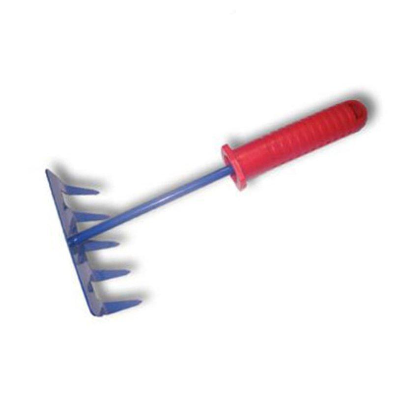 Grėbliukas 5 dantų (plastikinė rankena)