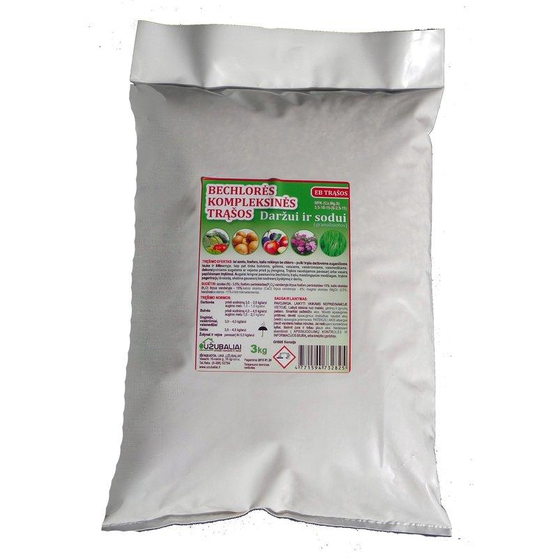 Bechlorės kompleksinės trąšos 3 kg